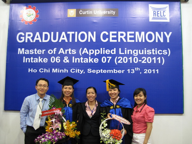 Graduation Ceremony of MA – Applied Linguistics Program – Intake 06 & Intake 07 (2010 – 2011)