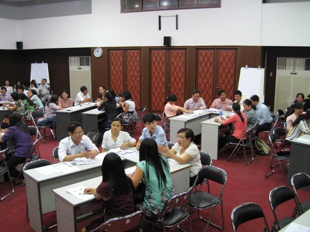 Tập huấn ứng dụng công nghệ thông tin trong giảng dạy ngoại ngữ