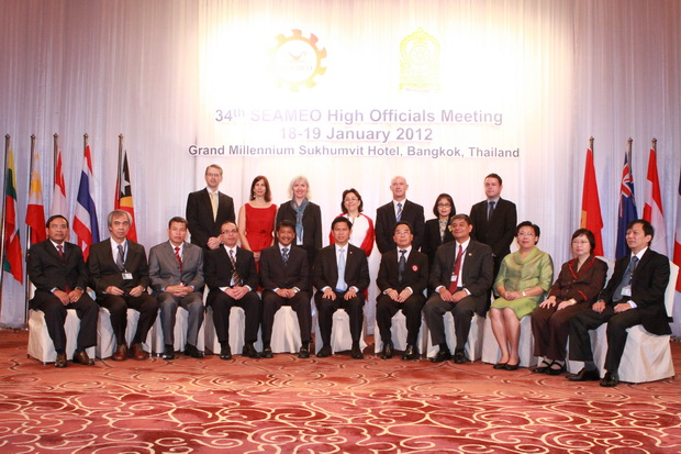 34th SEAMEO High Officials Meeting