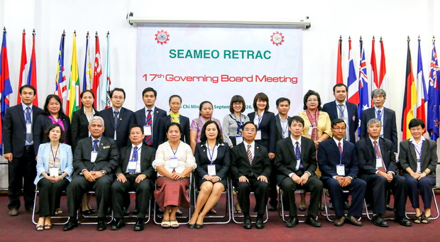 SEAMEO RETRAC's 17th Governing Board Meeting