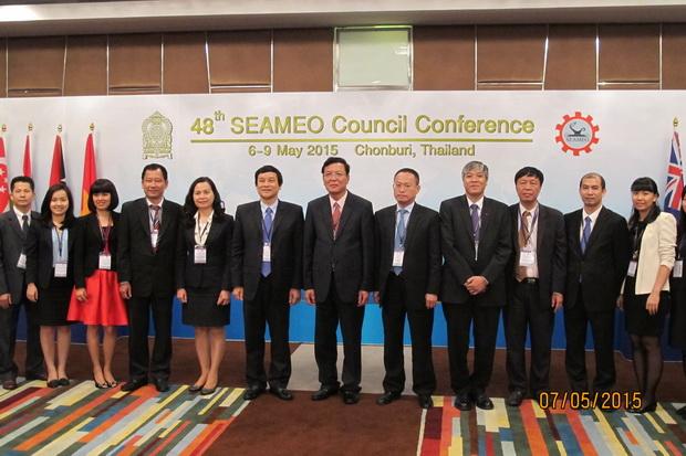 48th SEAMEO Council Conference in Chonburi, Thailand