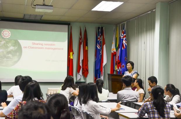 Hội thảo chia sẻ Kinh nghiệm Quản lý Học sinh Chương trình Anh văn Thiếu nhi