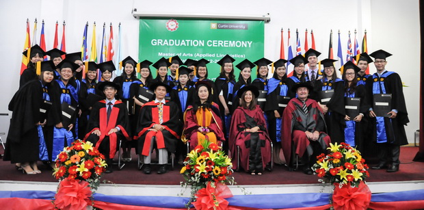 Graduation Ceremony of the Master of Arts in Applied Linguistics Program, Intake 10 (2012 – 2013)
