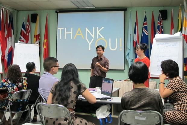 Buổi họp Giáo viên giảng dạy Chương trình tỉnh