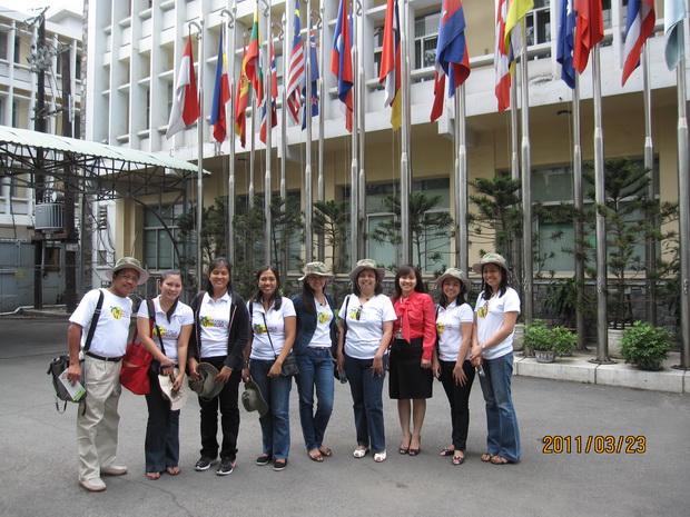 Visit of the SEARCA Delegation