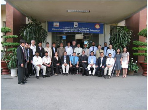 "International Training Course in ""Enhancing Training Quality in Higher Education"""
