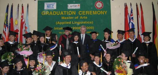 Lễ tốt nghiệp khóa 4 chương trình Thạc sĩ Ngôn ngữ ứng dụng