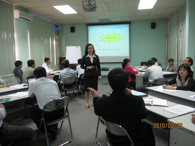 "International training course ""Enhancing Training Quality in Higher Education"""