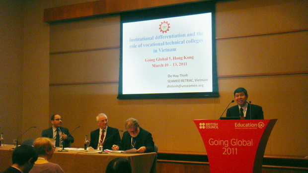 Conference on Going Global V, Hong Kong, March 9-12, 2011