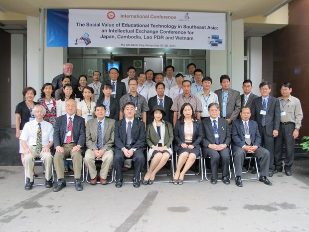 International Conference on the Social Value of Educational Technology in Southeast Asia: An Intellectual Exchange Conference for Japan, Cambodia, Lao PDR., and Vietnam