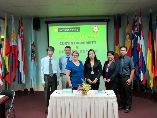 MOU Signing with Curtin University, Australia