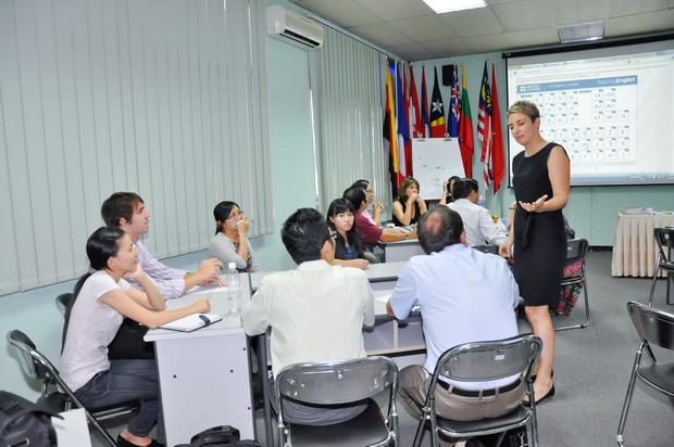 Tập huấn giáo viên về kỹ năng dạy phát âm