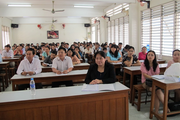 Opening Ceremony of the English Training Course for Secondary and High School Teachers of English in An Giang Province
