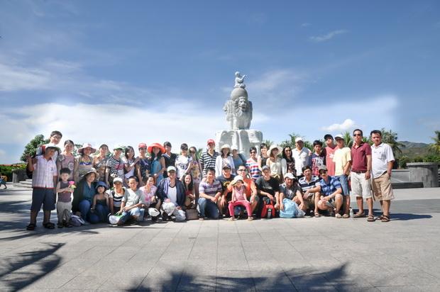Kỳ nghỉ mát tại Nha Trang của cán bộ viên chức Trung tâm SEAMEO RETRAC
