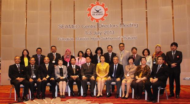 Phiên họp thường niên Giám đốc các Trung tâm SEAMEO năm 2013