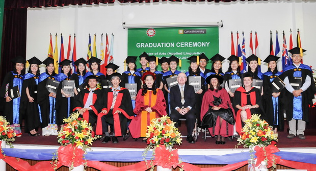 Graduation Ceremony of the Master of Arts in Applied Linguistics Program – Intake 09 (2012 – 2013)