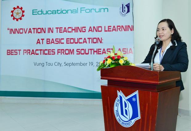 """Diễn đàn """"Đổi mới công tác dạy học trong giáo dục phổ thông: Bài học thực tiễn từ các quốc gia Đông Nam Á"""""""