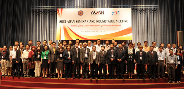 2013 AQAN Seminar and Roundtable Meeting on Building Quality Culture and National Qualifications Framework