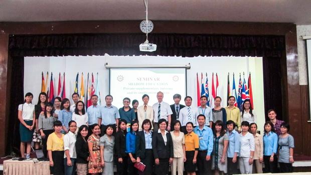 Hội thảo chuyên đề: Giáo dục không chính thống và tác động của nó tại các nước Châu Á
