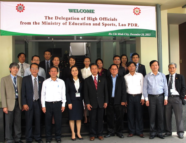 The Visit of the Delegation of High Officials from the Lao PDR Ministry of Education and Sports