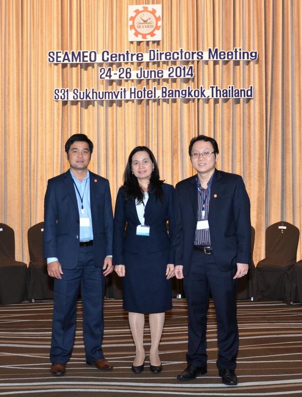 Phiên họp thường niên Giám đốc các Trung tâm SEAMEO năm 2014