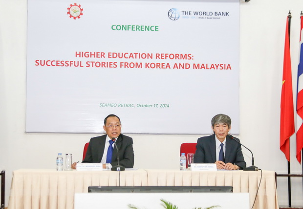 "Seminar on ""Higher Education Reforms: Successful Stories from Korea and Malaysia"""
