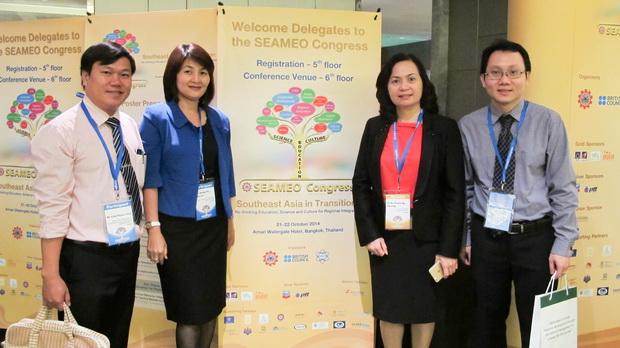 Attending SEAMEO Congress in Bangkok, Thailand