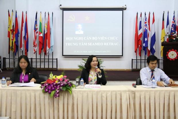 Hội nghị Cán bộ viên chức (CBVC) Trung tâm SEAMEO RETRAC
