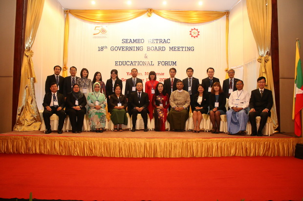 SEAMEO RETRAC's 18th Governing Board Meeting