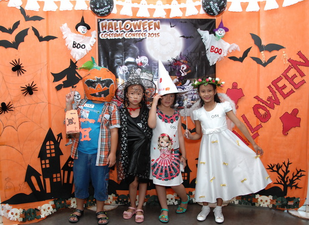 HALLOWEEN ACTIVITIES AT SEAMEO RETRAC