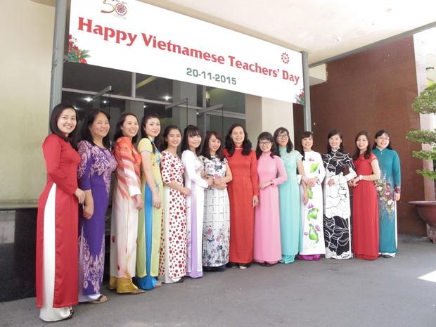 Chào mừng Ngày nhà giáo Việt Nam 20/11/2015