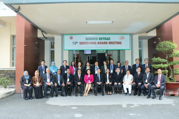 Phiên họp Hội đồng Quản trị (HĐQT) lần thứ 20 của Trung tâm SEAMEO RETRAC