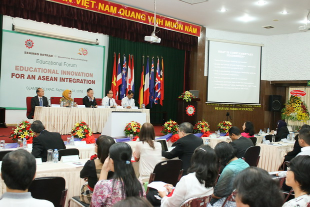 Forum on Educational Innovation for an ASEAN Integration