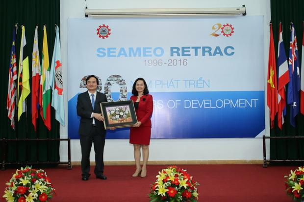 SEAMEO RETRAC 20th Anniversary Ceremony