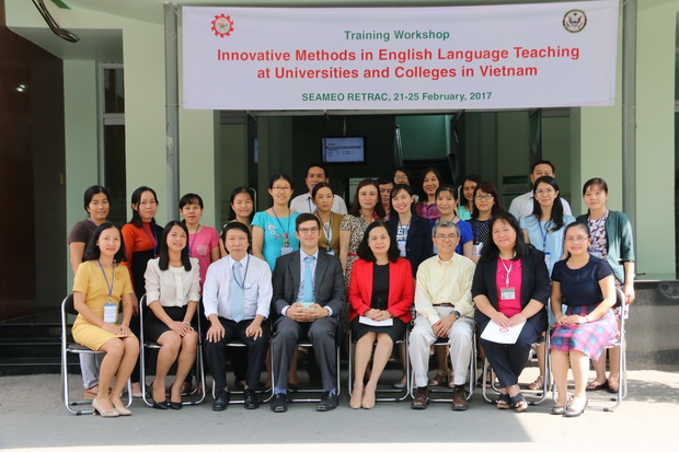Training Workshops on Innovative Methods in English Language Teaching at universities and colleges in Vietnam