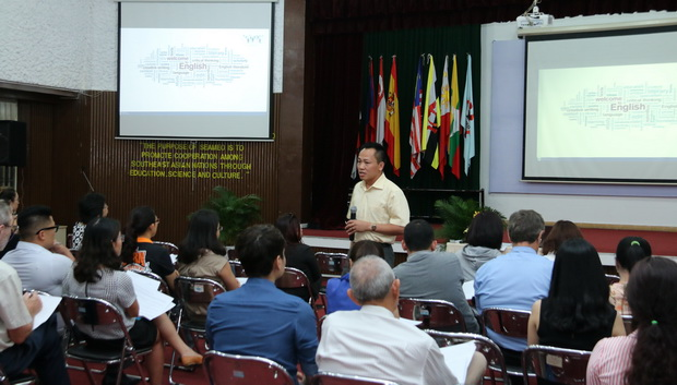 "Guest Speaker's presentation on ""English Language Learning and Teaching in a Mobile World: Challenges and Possibilities"""