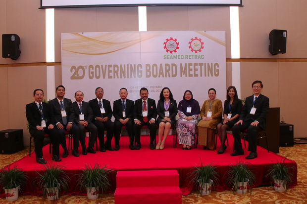 SEAMEO RETRAC's 20th Governing Board Meeting
