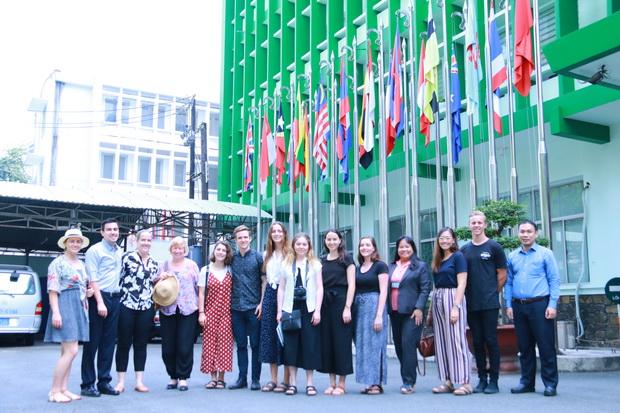 Chuyến thăm của đoàn sinh viên trường Đại học Griffith, Úc