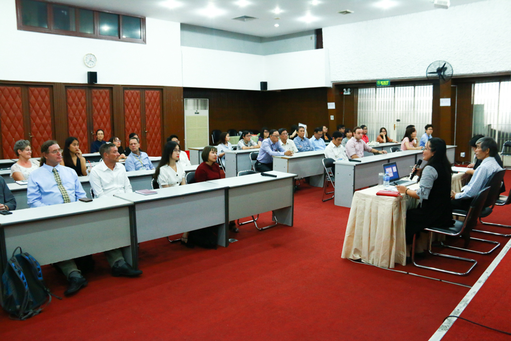 DFS Faculty Meeting in 2019