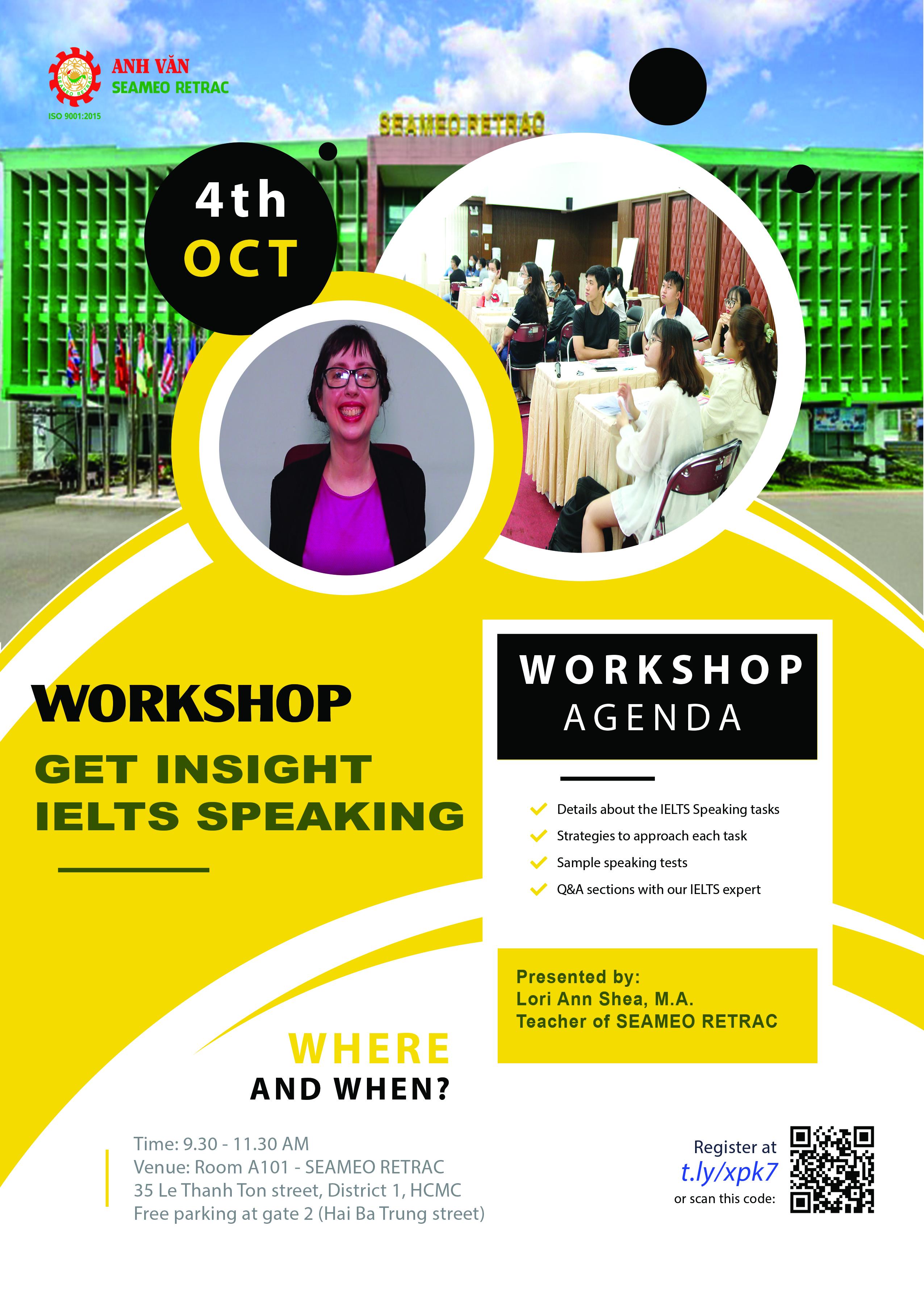 Workshop: Get insight of IELTS Speaking
