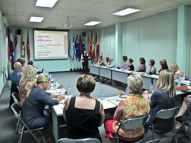 The Visit of the Delegation from Calgary School Board of Education, Canada