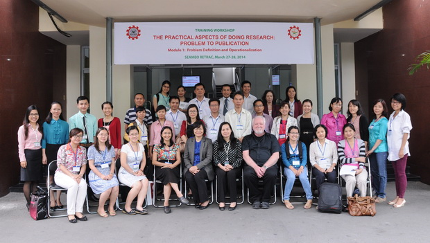 """Training Workshop on """"The Practical Aspects of Doing Research: Problem to Publication, Module 1 – Problem Definition and Operationalization"""""""