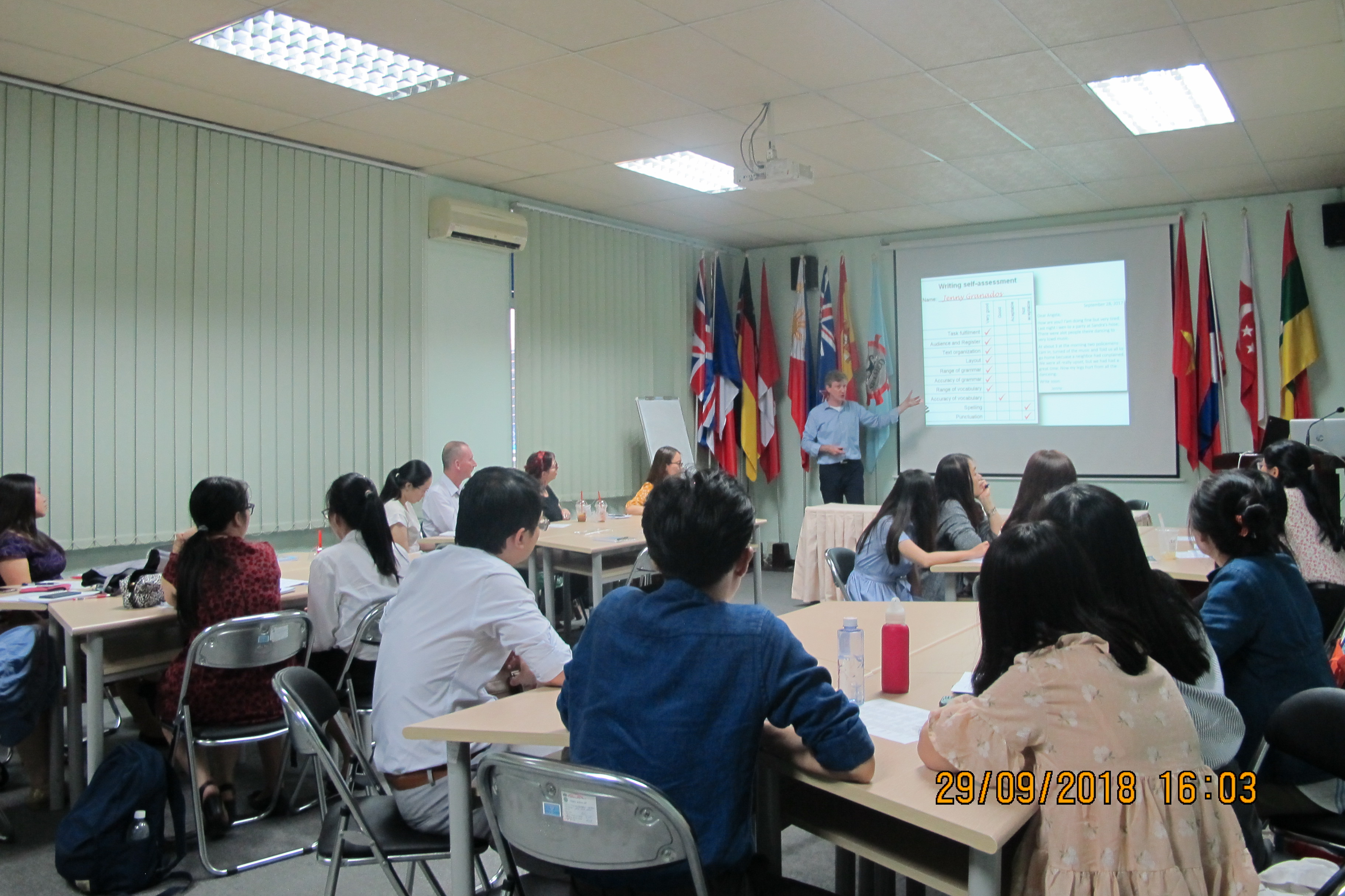 """Training Workshop on """"Effective techniques in teaching Writing to teenagers"""""""
