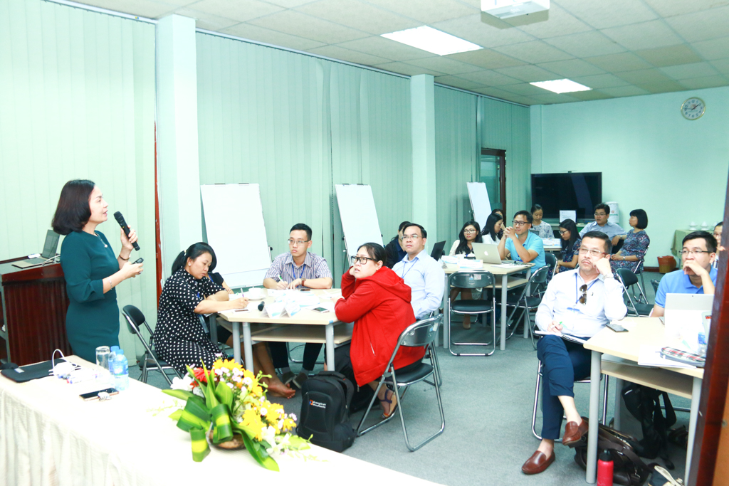 "Opening Ceremony of Training Courses on ""Innovative Approaches in Teaching Content Areas in English"" for Lecturers of Viet Nam National University – Ho Chi Minh City"